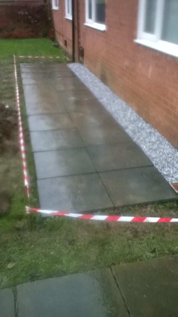 Patio Installation Process 1